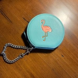 Coach Flamingo Coin Purse